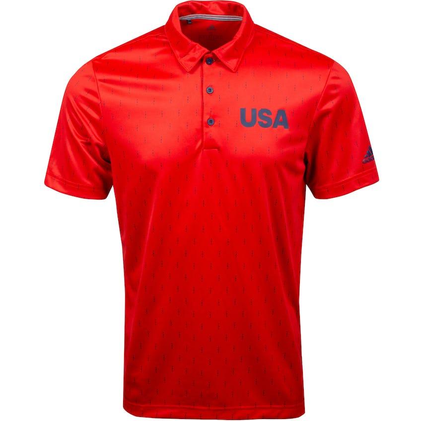 USA Olympic Golf Polo Red/Dark Blue 0