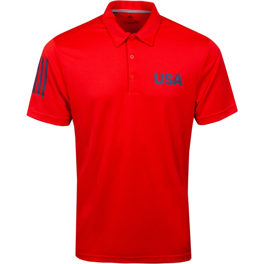 USA Olympic Golf Polo Red 0