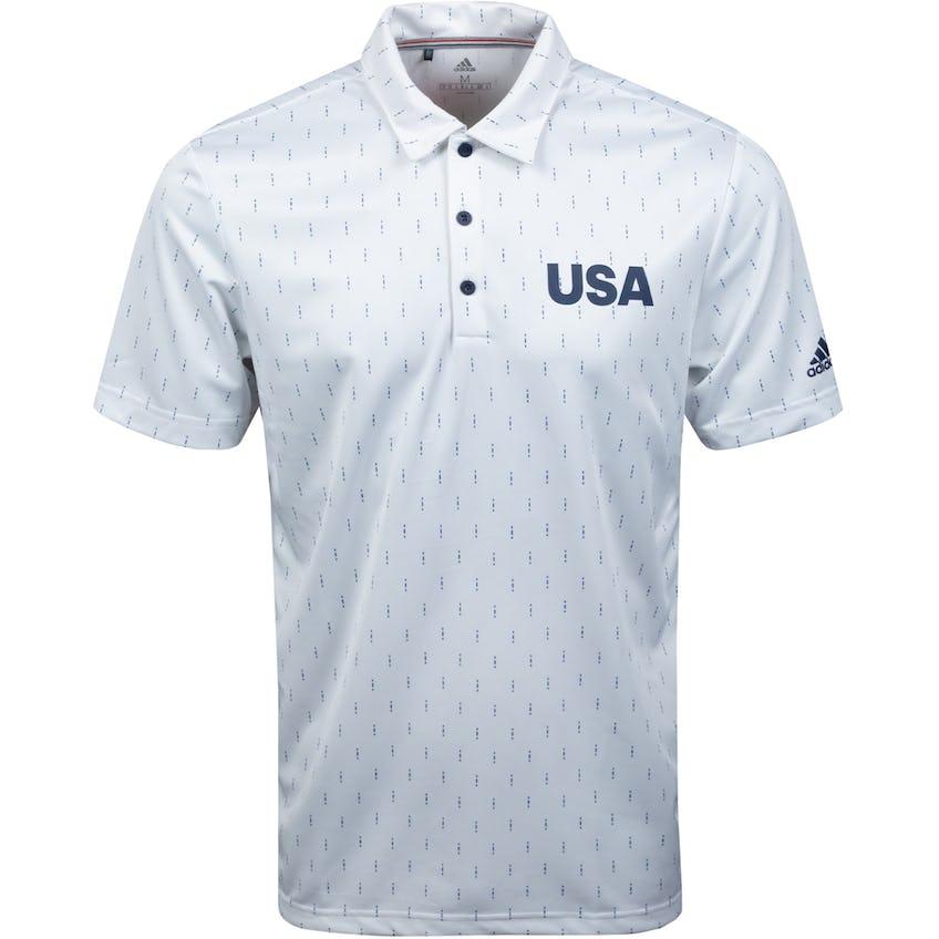 USA Olympic Golf Polo White/Navy 0