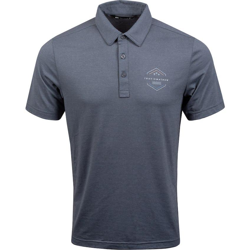 Bar Menu Polo Shirt Heather Black 0