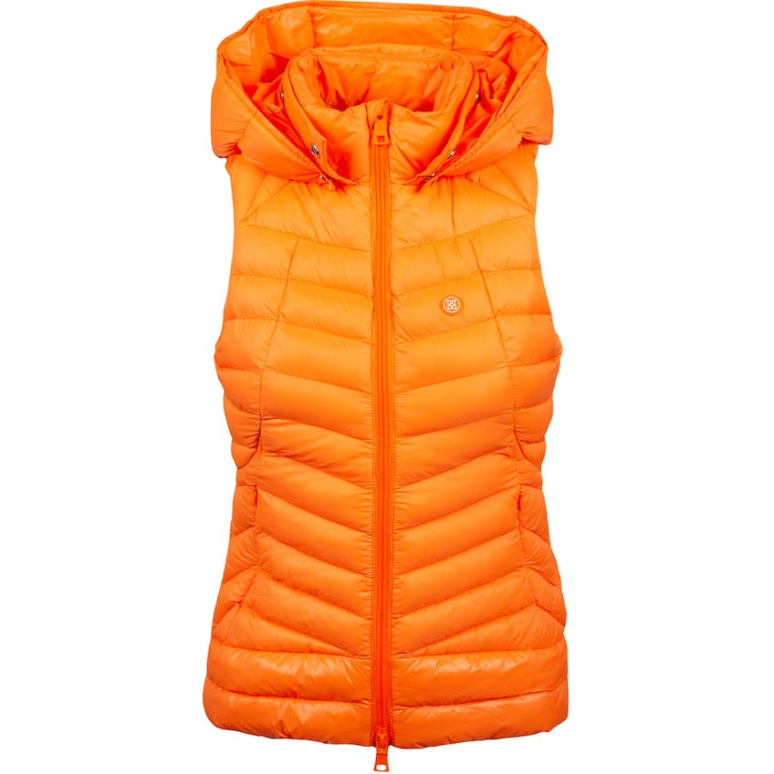 Womens Puffer Vest W/ Removable Hood Exotic 0