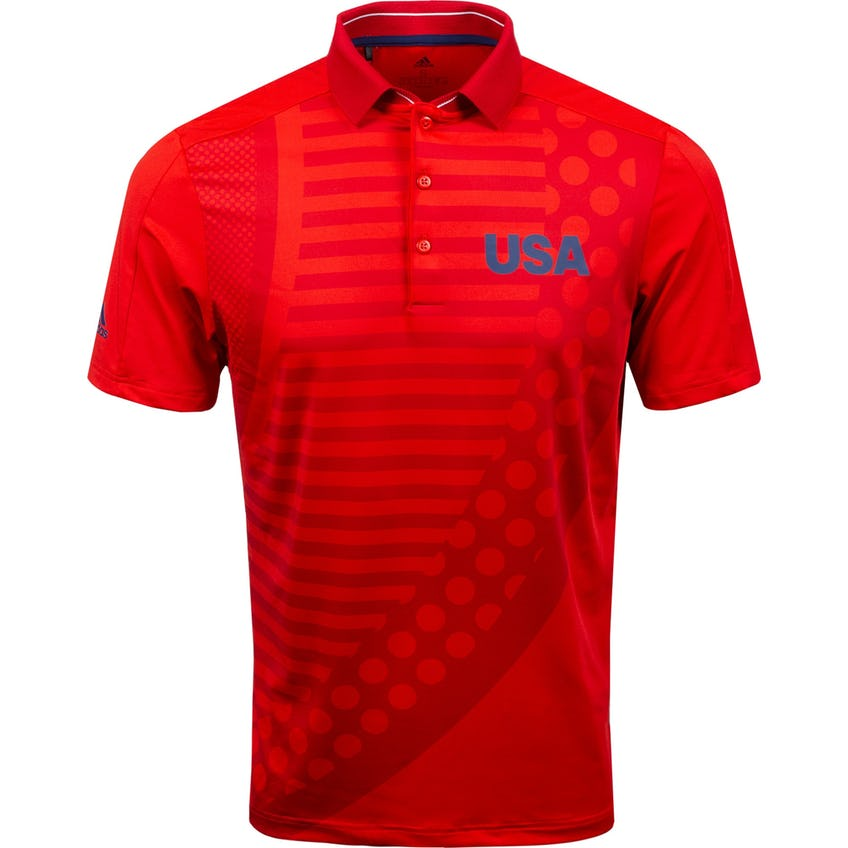USA Olympic Golf Polo Red/Scarlet 0