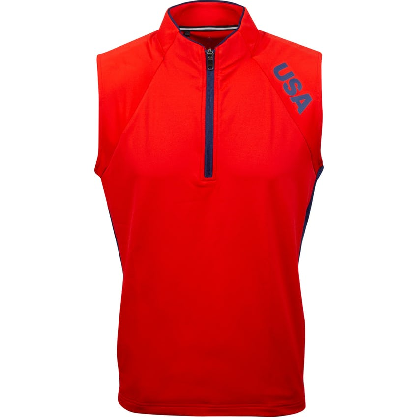 USA Olympic Wind Vest Red 0
