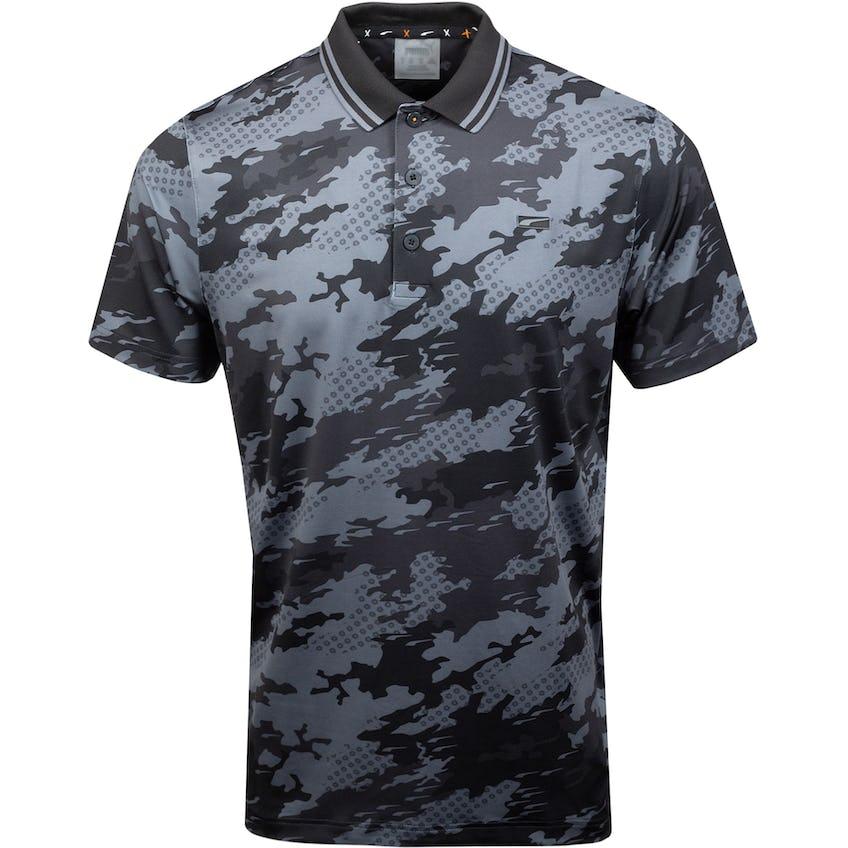 X Camouflage Polo Puma Black 0