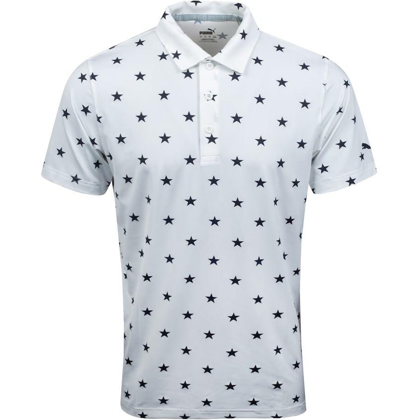 MATTR Stars Polo Bright White/Navy Blazer 0