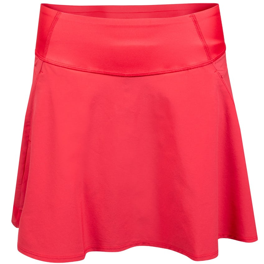 Womens PWRSHAPE Solid Woven Skirt Teaberry 0