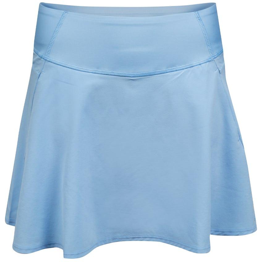 Womens PWRSHAPE Solid Woven Skirt Placid Blue 0