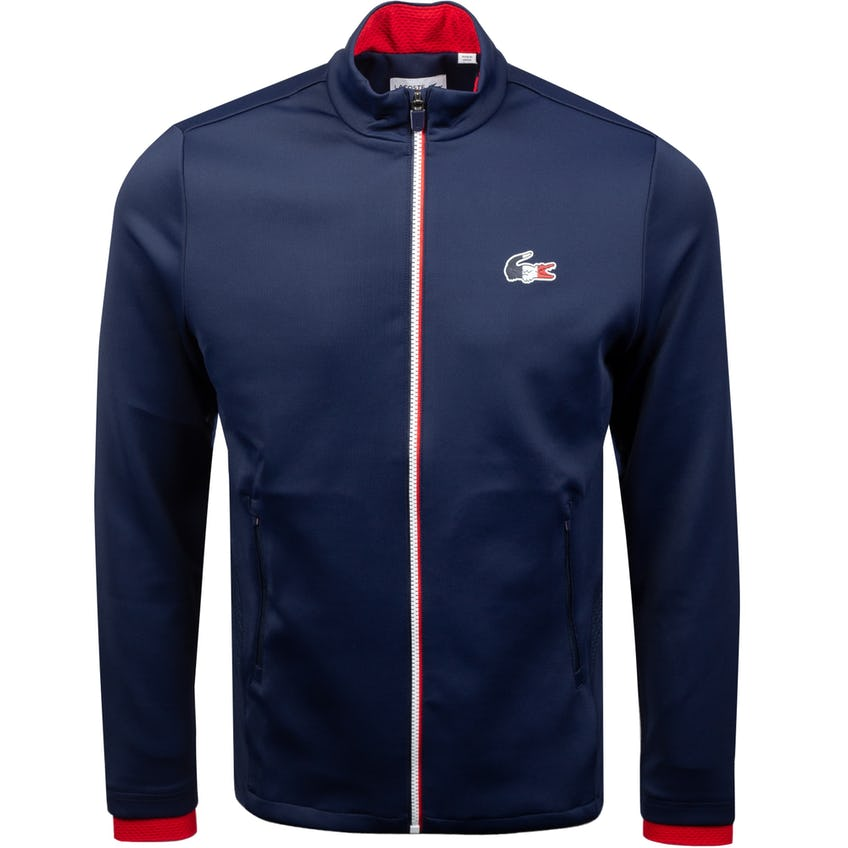 Olympic Collection Stretch Double Face Jacket Blue/White/Red 0