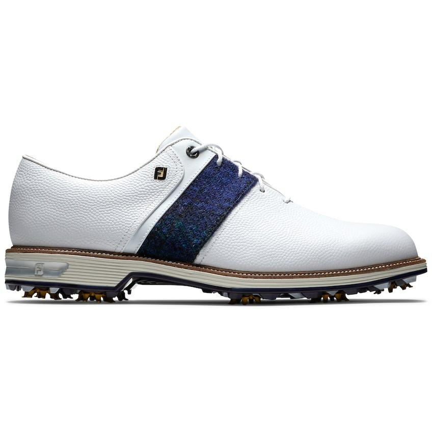 Premiere Black Watch Packard (WIDE) Golf Shoes White/Blue/Green 0