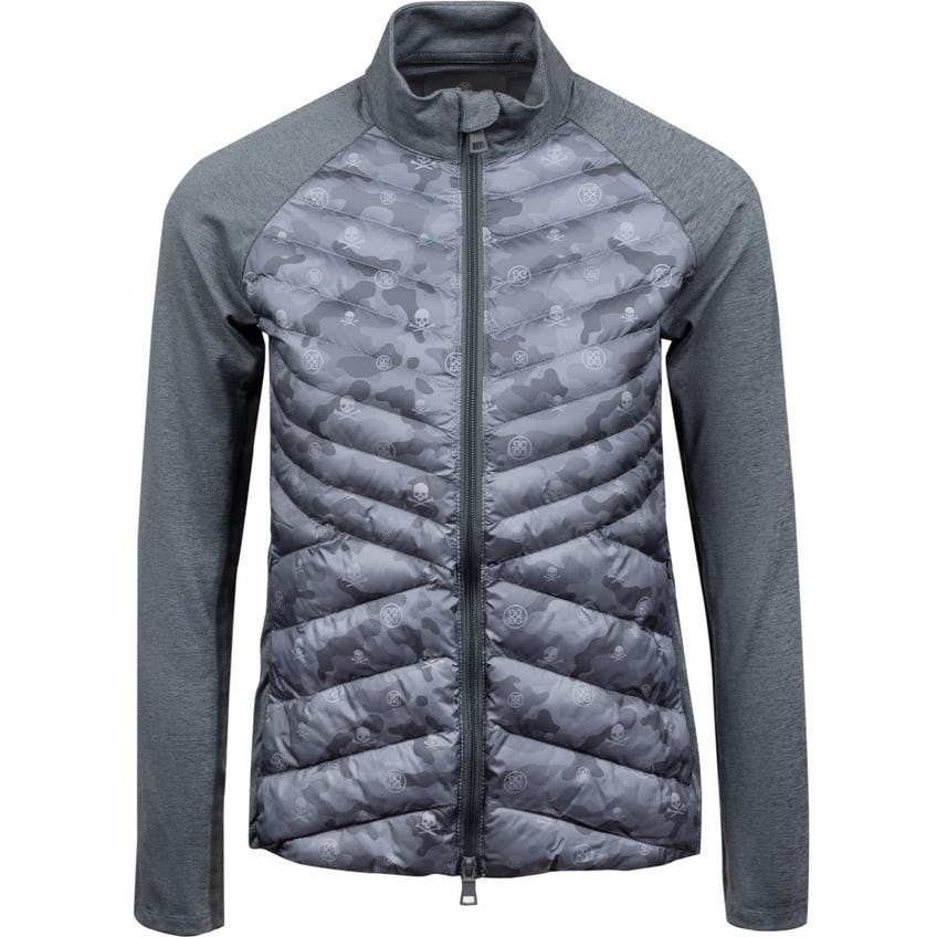 Womens Killer Quilted Hybrid Jacket Charcoal Grey 0