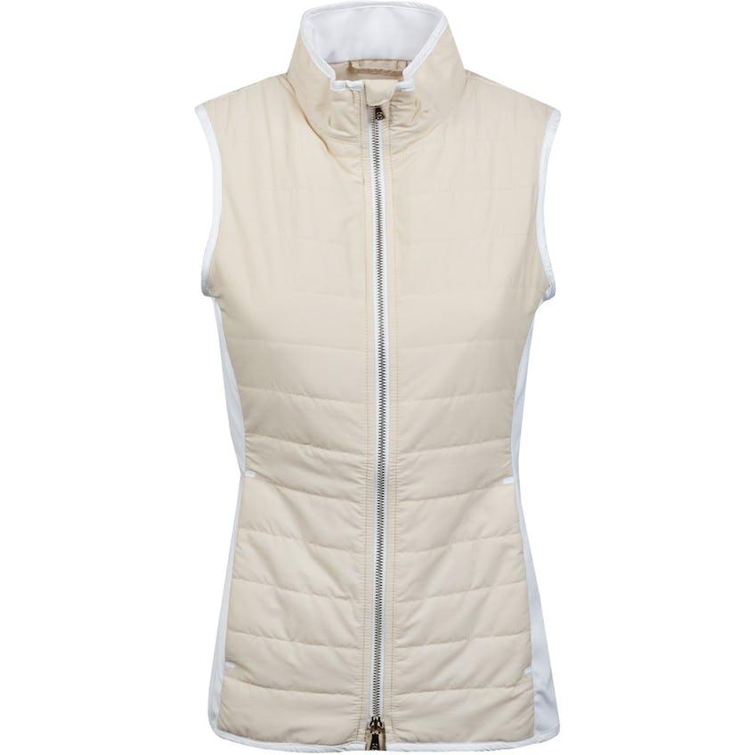 Womens Lizzie Hybrid Vest Sand/White 0