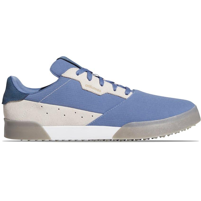 Adicross Retro Golf Shoes Crew Blue/Crew Navy/Grey 0