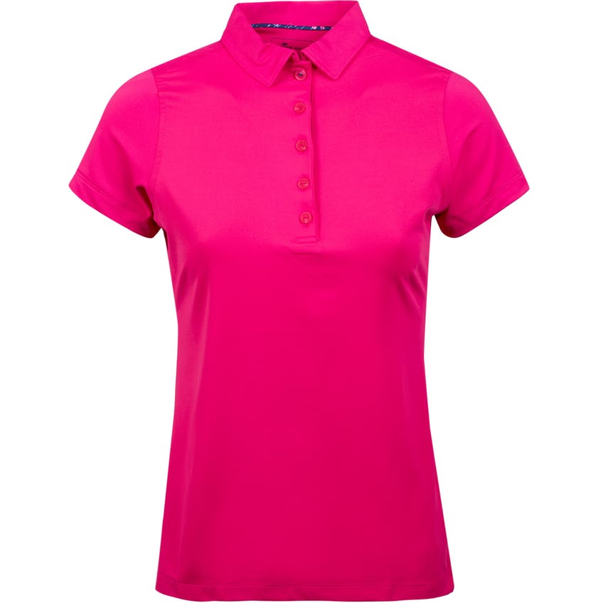 Womens Perfect Fit Performance Short Sleeve Polo Camellia 0