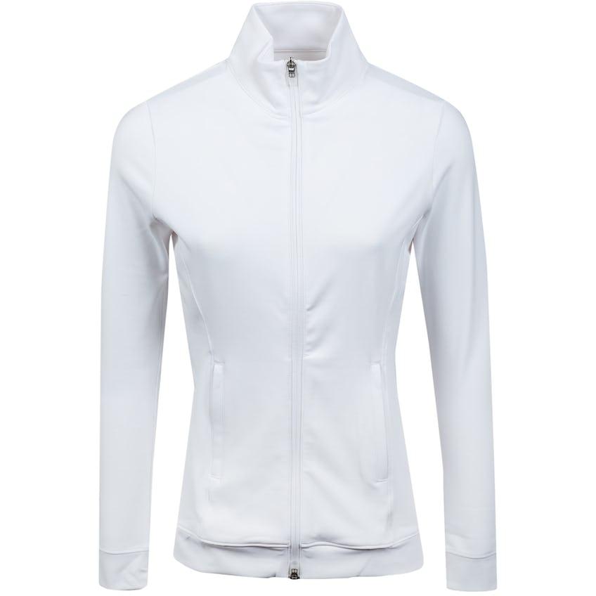 Womens Parker Full Zip Sport Layer White 0