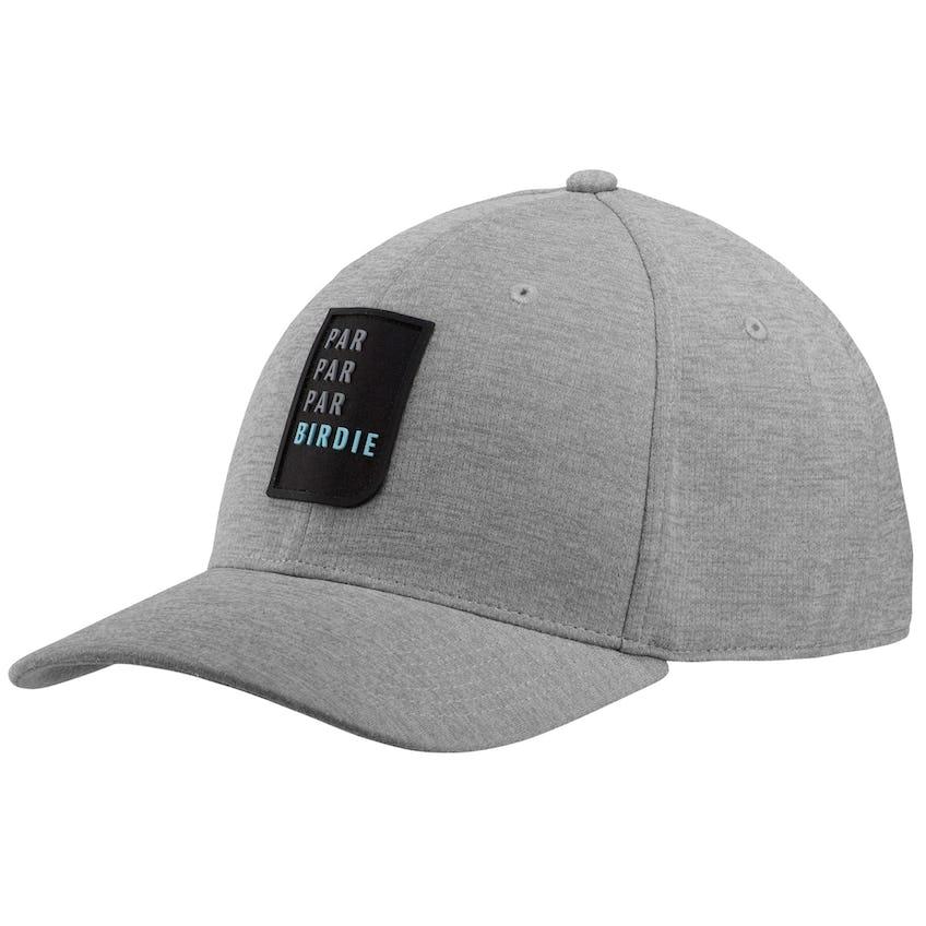 P.P.P.B. Snapback Cap Medium Grey Heather 0