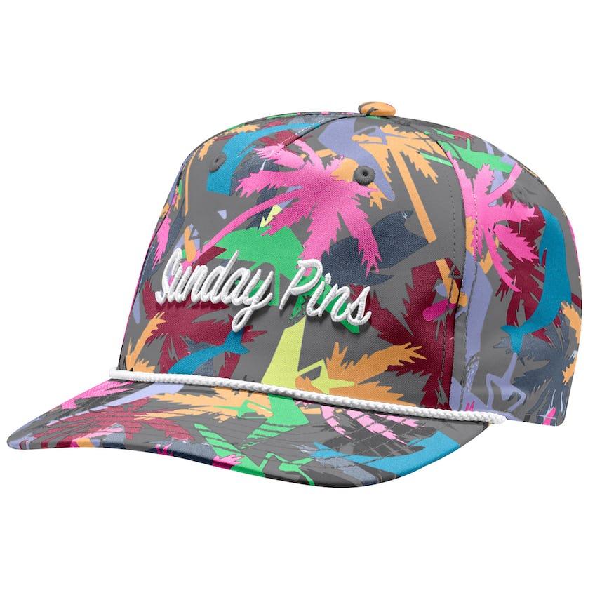Sunday Pins Hat Grey Four 0