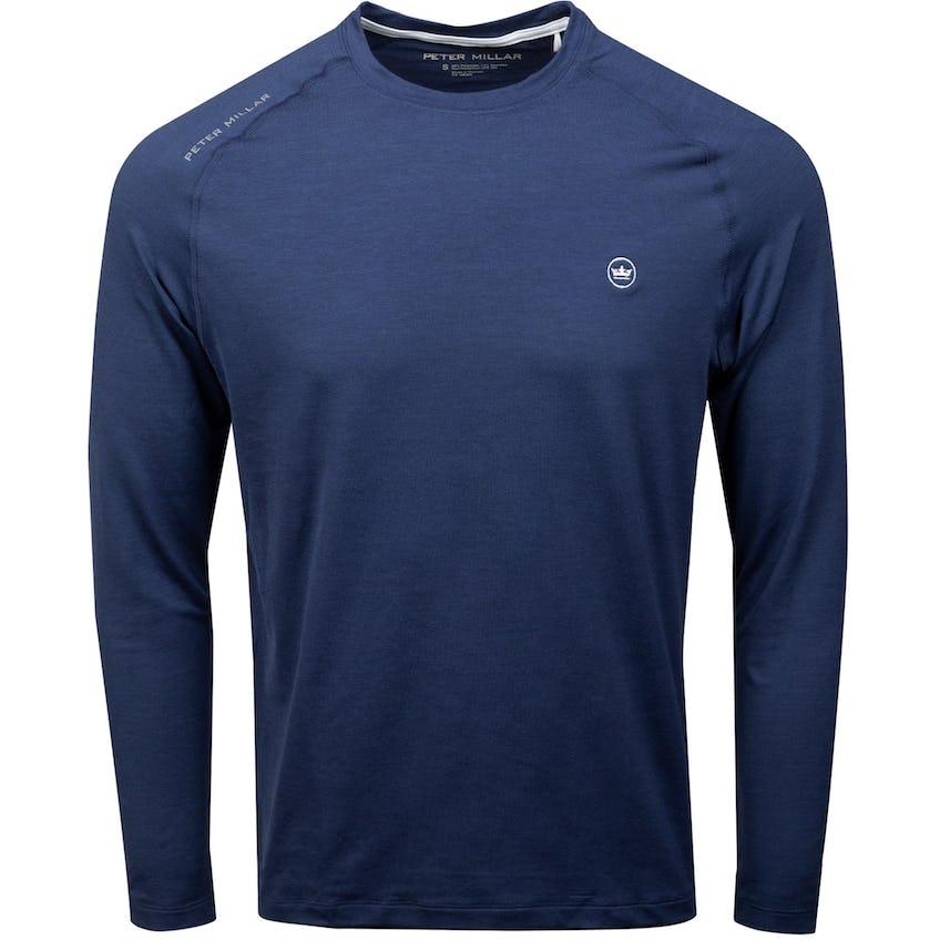 Apollo Performance Long Sleeve T-Shirt Navy 0