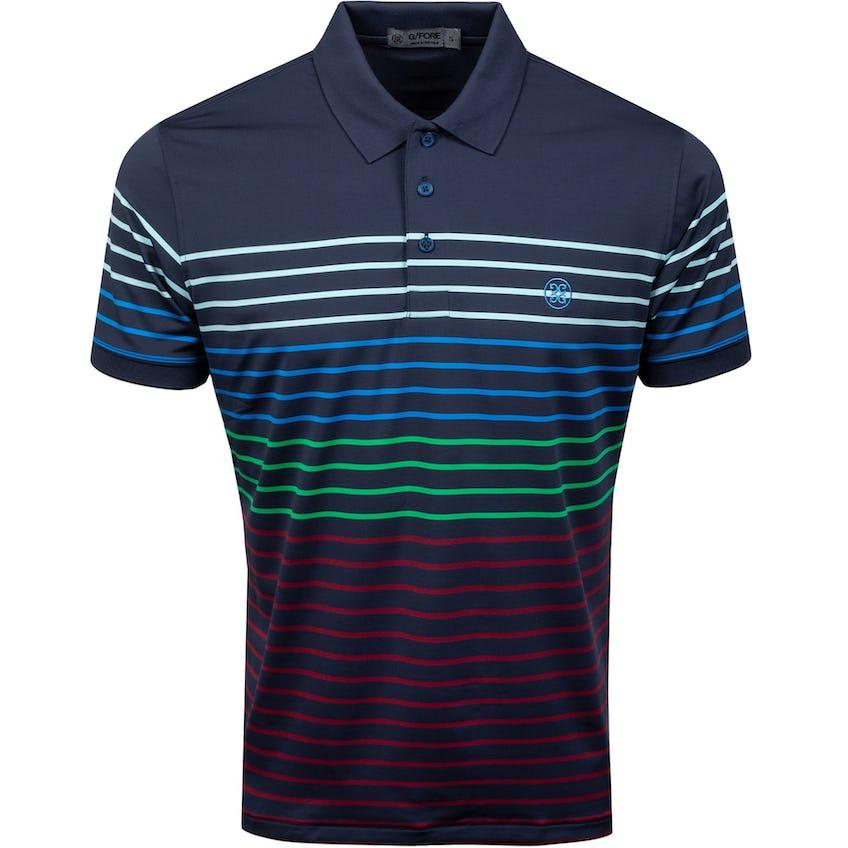 Variegated Stripe Polo Twilight 0