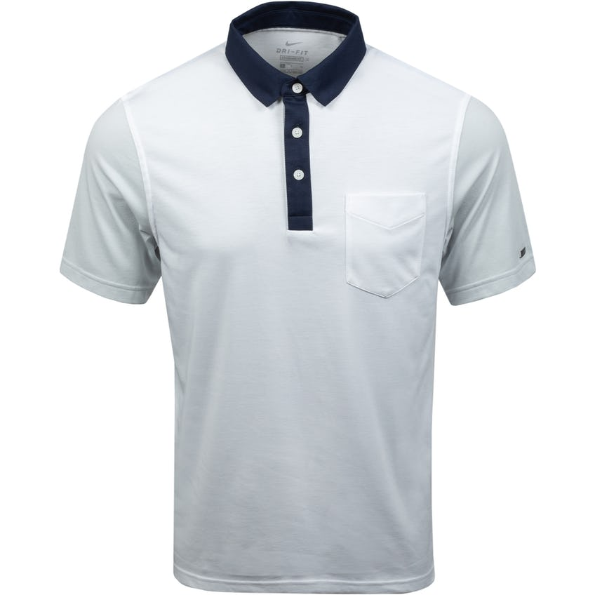 Dri-FIT Player Color-Blocked Golf Polo White/Photon Dust 0