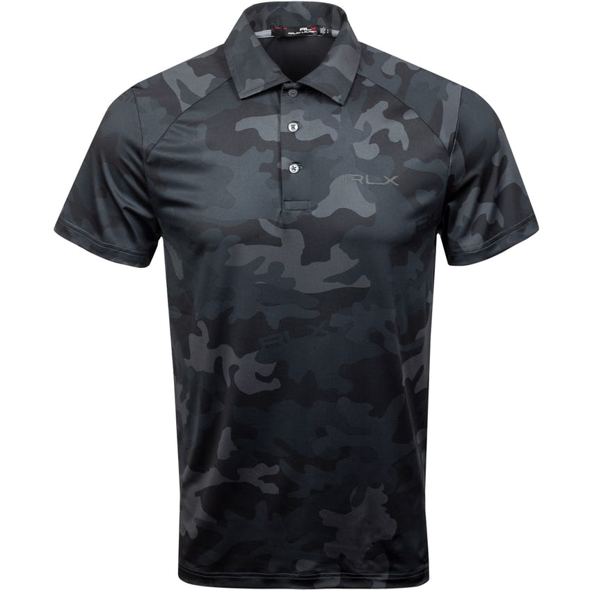 Featherweight Pro-Fit Airflow Polo Black Camo 0