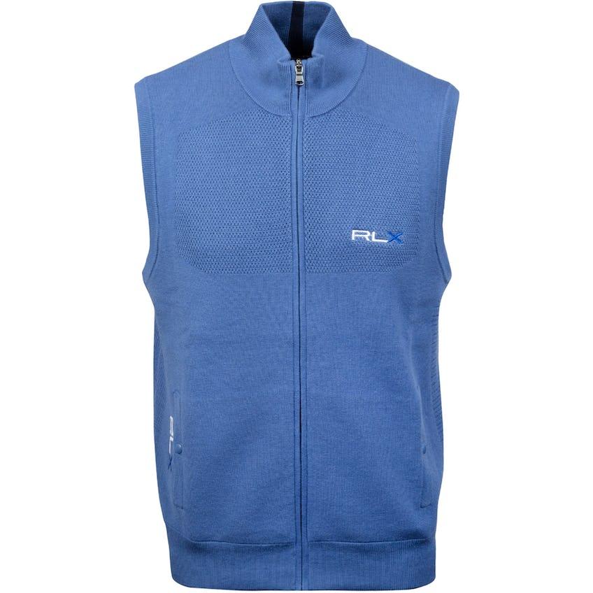Windblock Sweater Vest Bastille Blue 0