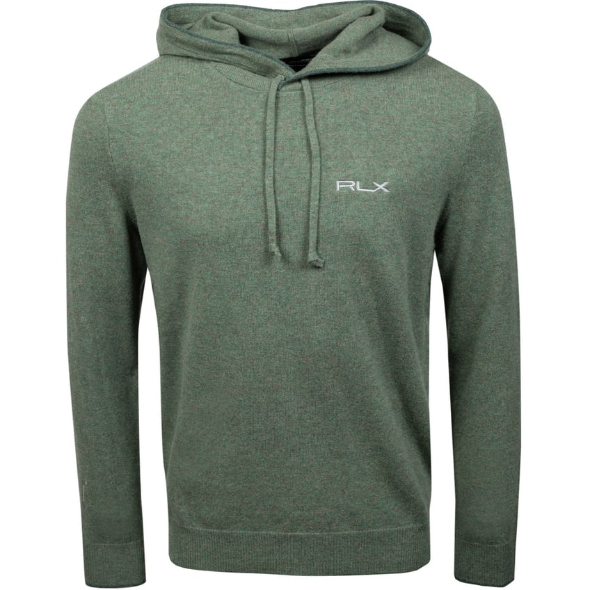 Long-Sleeve Washable Cashmere Hoodie Lovette Heather 0