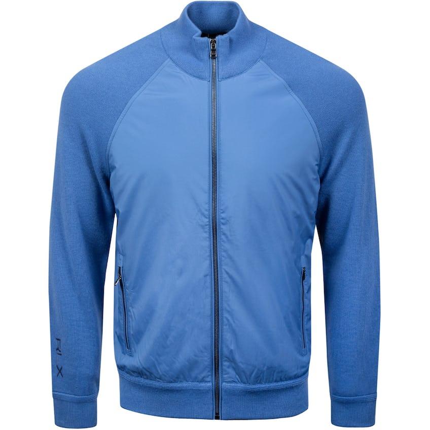 Hybrid Full-Zip Sweater Bastille Blue 0