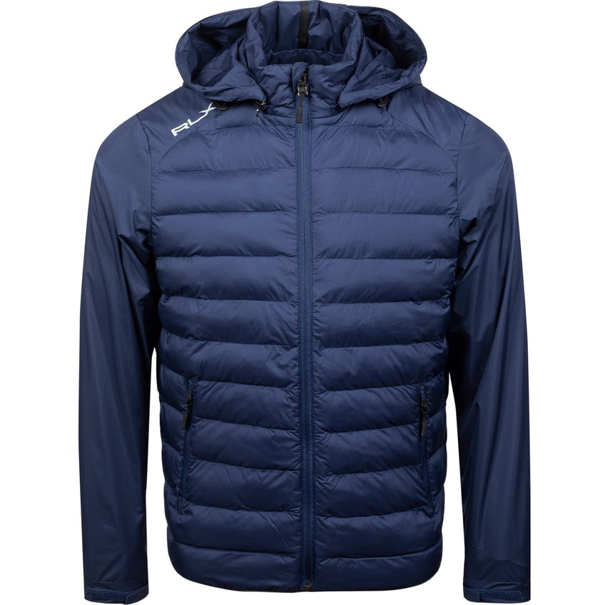 Full-Zip Packable Thermoplume Filled Hoodie French Navy 0