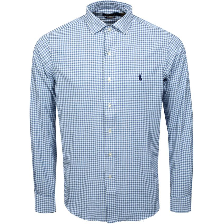 Poplin Estate Collar Woven Blue/White 0