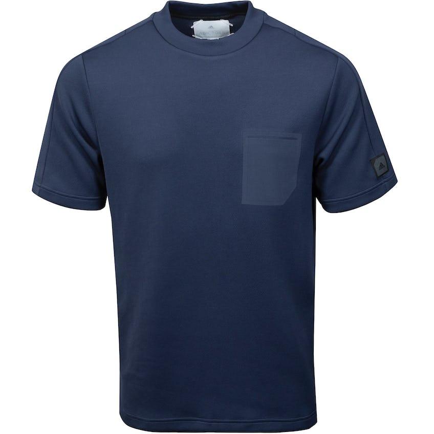 adicross Evolution SS Polo Shirt Grey 0