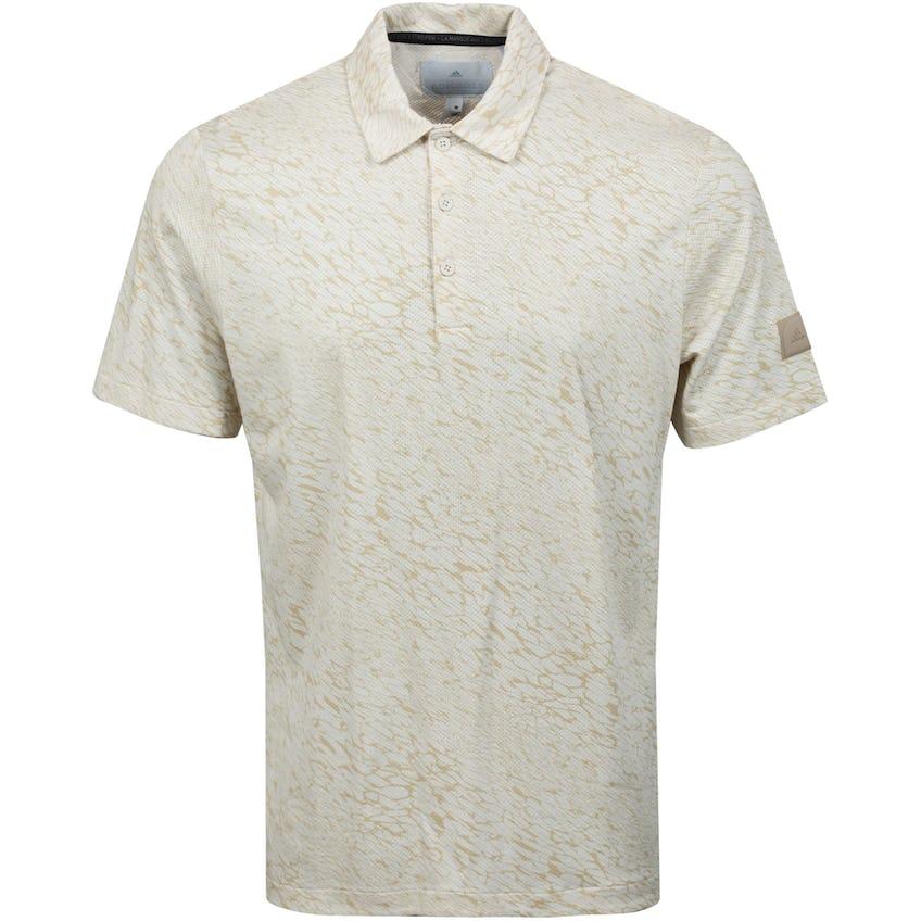 adicross Three Below Polo Shirt Beige 0