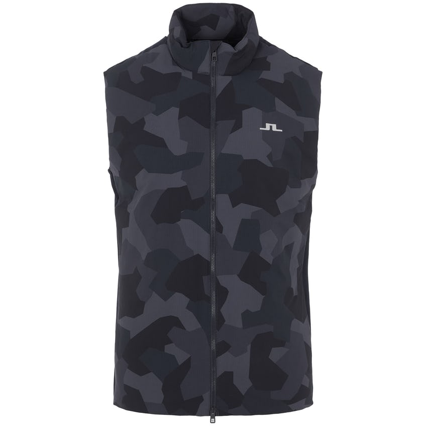 Packlight Print Golf Vest JL Navy Camo 0