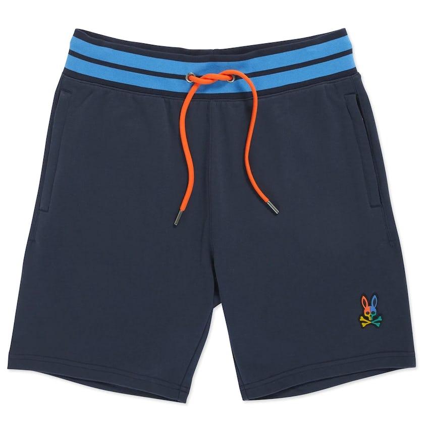 Warwick Color Block Logo Shorts Navy 0