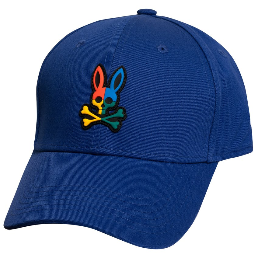 Color Block Baseball Cap Bold Blue 0