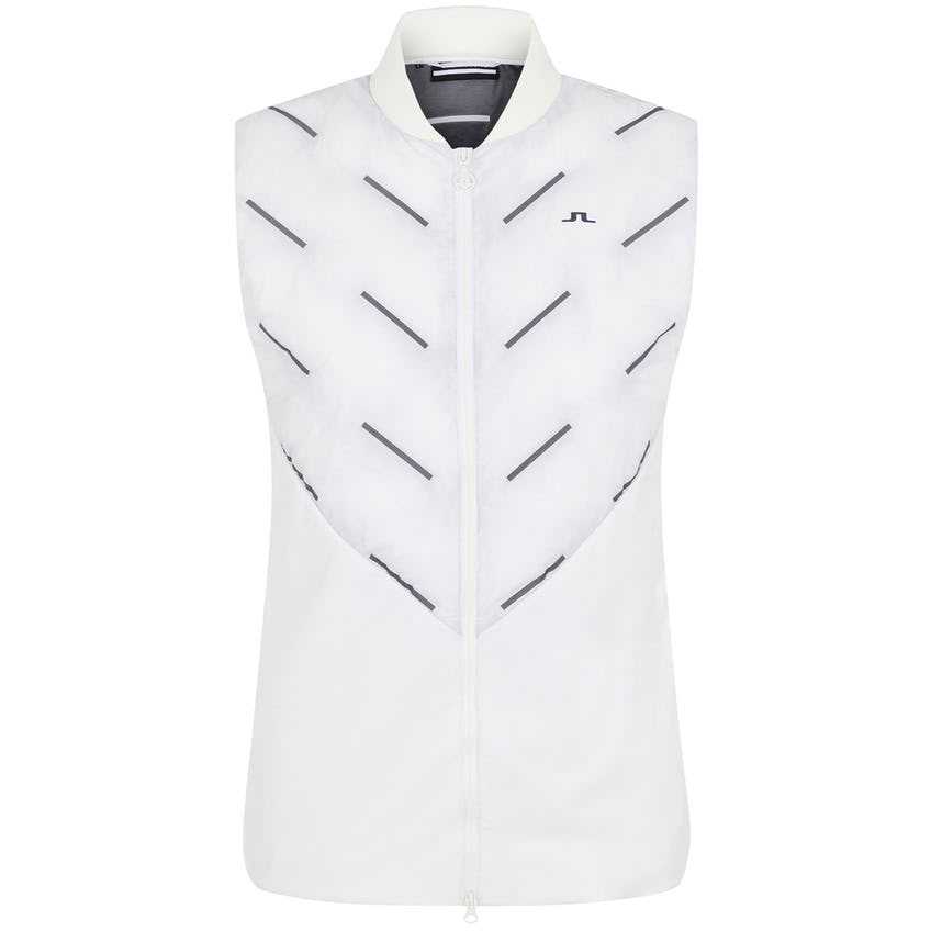 Womens Shield Hybrid Golf Vest White 0