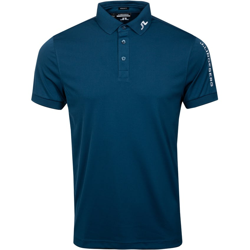 Tour Tech Reg Fit Golf Polo Majolica Blue 0