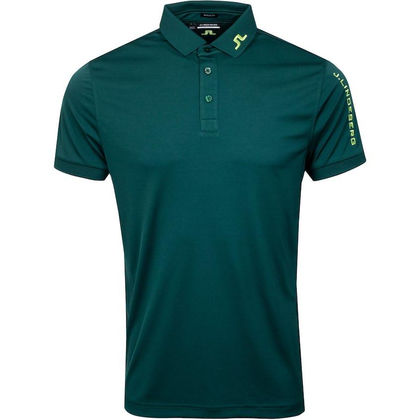 Tour Tech Reg Fit Golf Polo Treeline Green 0