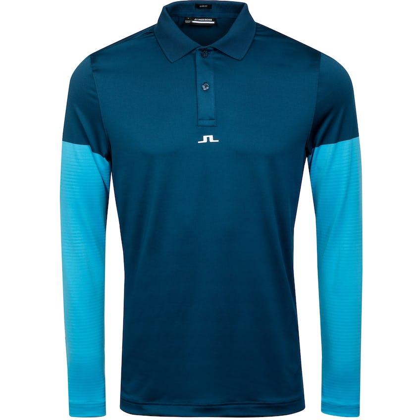 Norman Slim Fit Golf Polo Majolica Blue 0
