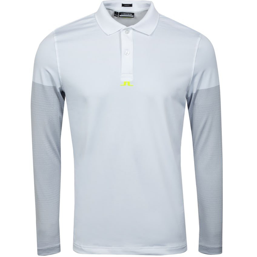 Norman Slim Fit Golf Polo White 0