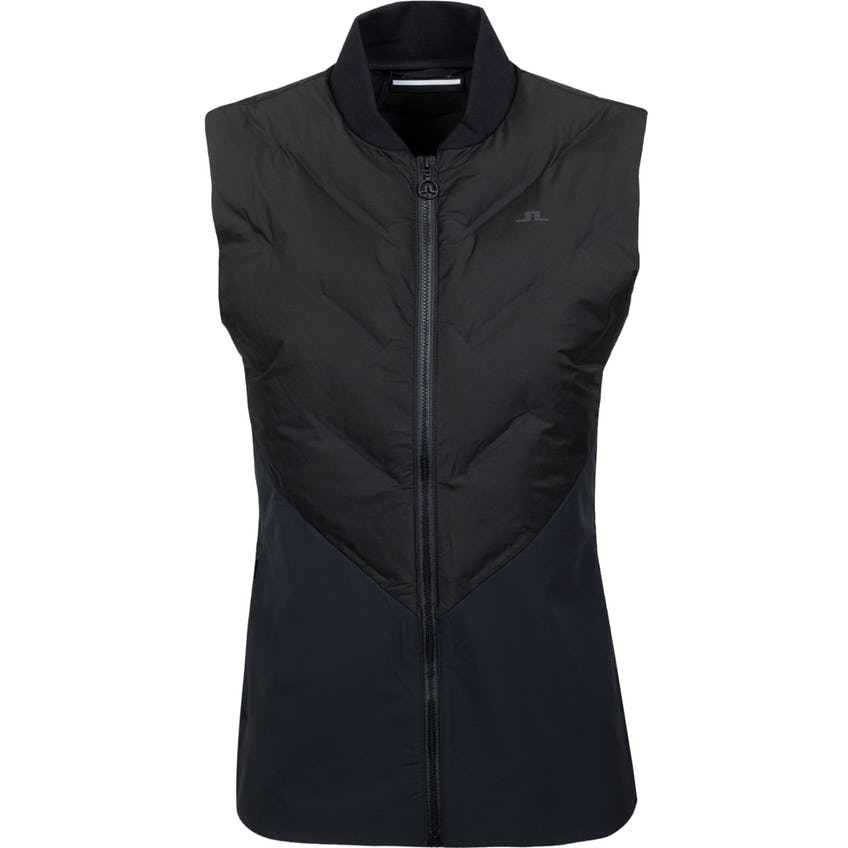 Womens Shield Hybrid Golf Vest Black 0
