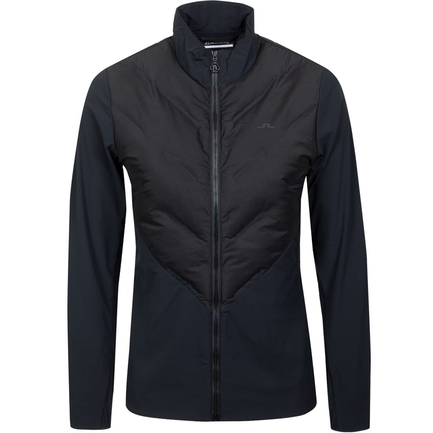 Womens Shield Hybrid Golf Jacket Black 0
