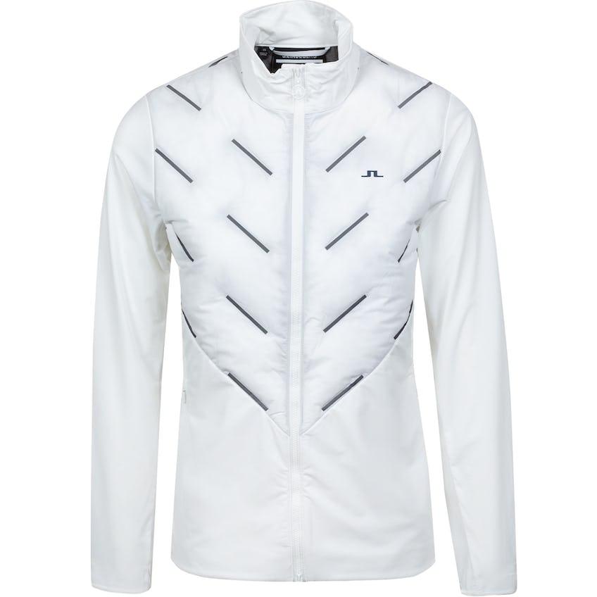 Womens Shield Hybrid Golf Jacket White 0