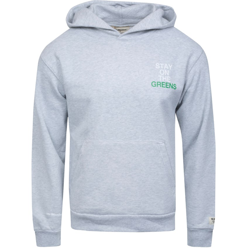 Stay On The Greens Recess Hoodie Ash Grey 0