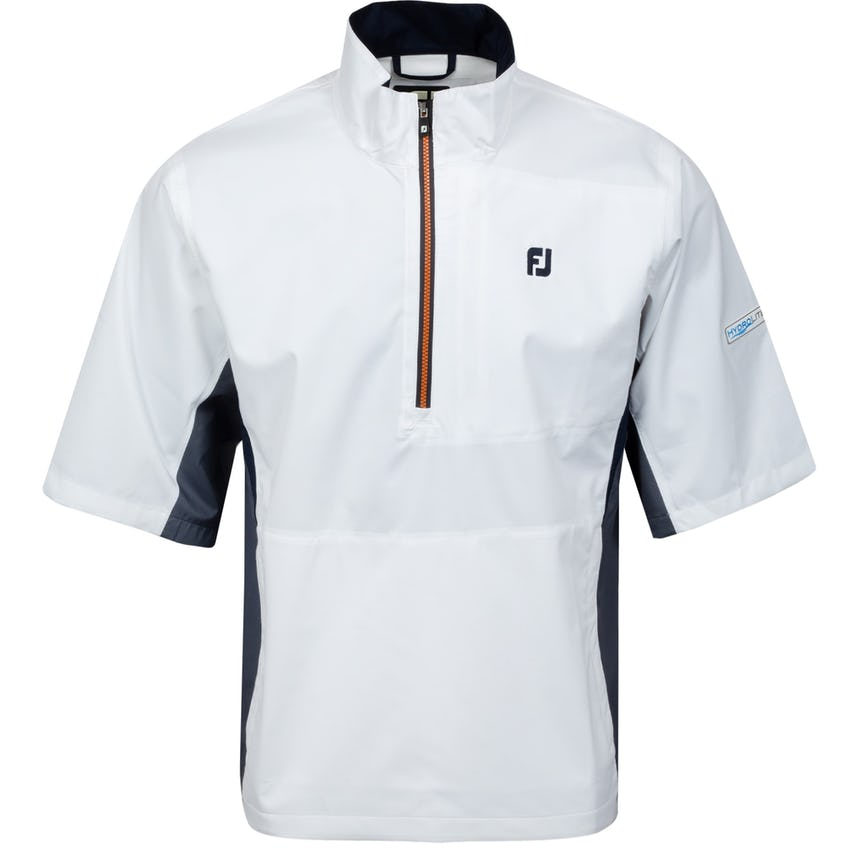 Hydrolite Rainshirt Short Sleeve White/Charcoal/Orange 0