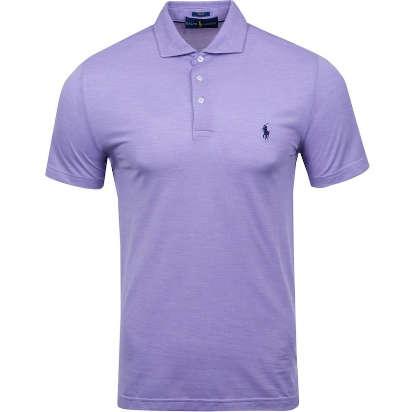 Solid Profit Tour Pique Polo English Purple Heather 0