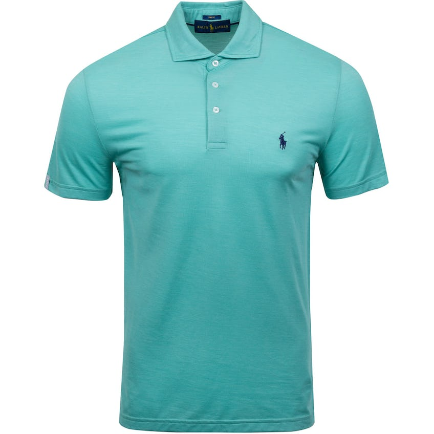 Solid Profit Tour Pique Polo Resort Green Heather 0