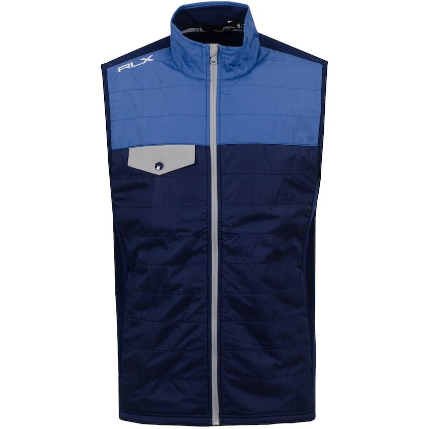 Icon Fleece Colorblock Hybrid Vest Bastille Blue/French Navy 0