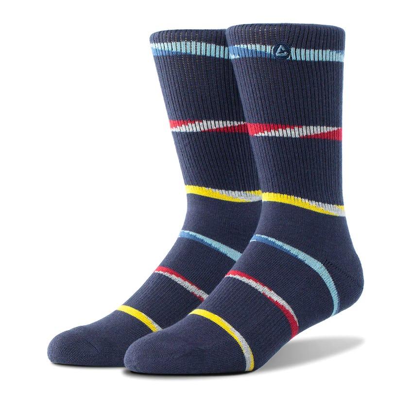 Trilogy Crew Sock Mood Indigo 0