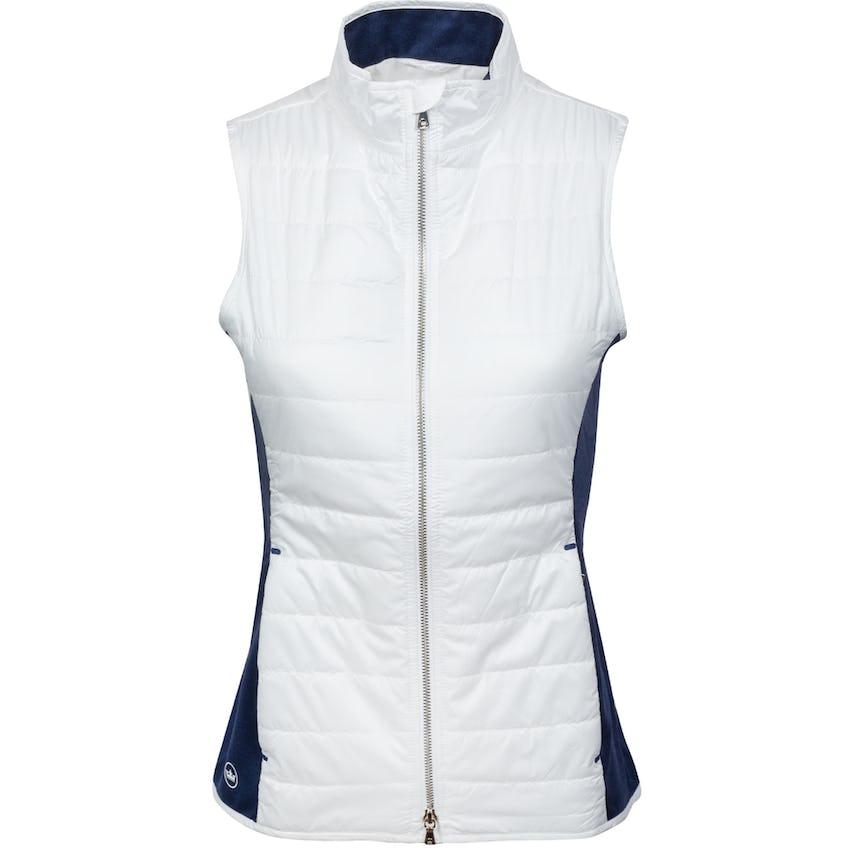 Womens Lizzie Hybrid Vest White/Navy 0