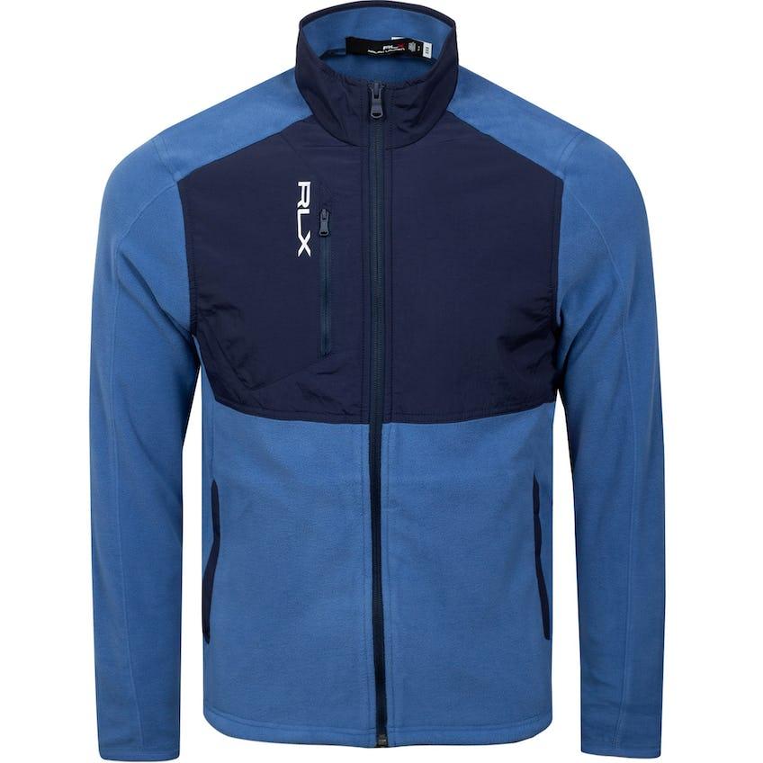 Long-Sleeve Full-Zip Icon Fleece Bastille Blue/French Navy 0